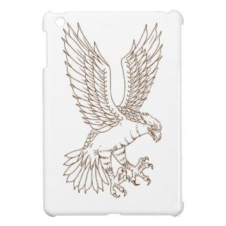 Osprey-Swooping Zeichnen iPad Mini Hülle
