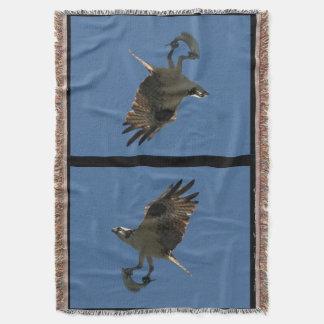 Osprey-Vogel-u. Heilbutt-Wurfs-Decke Decke