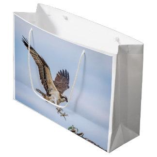 Ospreylandung im Nest Große Geschenktüte
