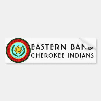 Ostband des Cherokee amerikanischen Ureinwohners Autoaufkleber