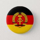 Ostdeutsche Flagge Runder Button 5,1 Cm