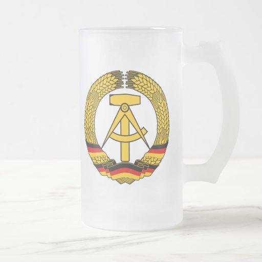 Ostdeutschland-Wappen/Deutschland-Staats-Siegel Haferl