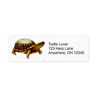 OstDosenschildkröte-Aufkleber