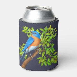 Ostdrossel im Baum kann cooler Dosenkühler