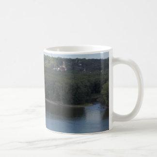 OstDubuque auf dem Fluss Mississipi Kaffeetasse