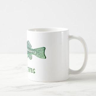 Osteichthyes Tassen-Fisch, Skelett, entbeint Kaffeetasse