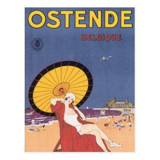 Ostende - Belgique Postkarte
