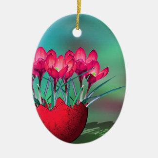 Osterdeko Keramik Ornament