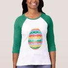 Osterei-Baseball Jersey Frauen Ostern Jersey T-Shirt