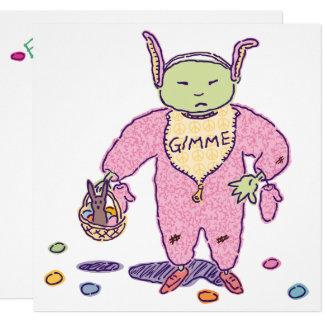 Osterei-Jagd Ghoulie Gimme Schokolade Karte