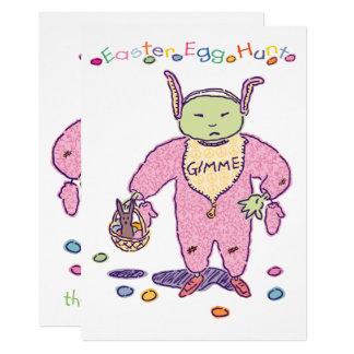 Osterei-Jagd Gimme Schokolade Ghoulie Karte