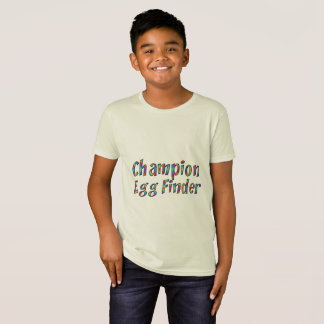 Osterei-Jagd-Meister-Ei-Sucher-lustiges buntes T-Shirt