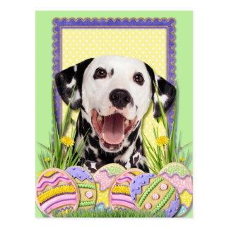 Osterei-Plätzchen - Dalmatiner Postkarte