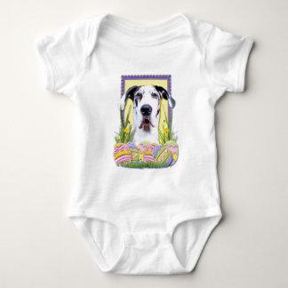 Osterei-Plätzchen - Deutsche Dogge - Baron Baby Strampler