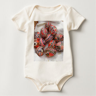 Ostereier Baby Strampler