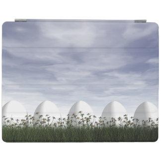 Ostereier in der Natur bis zum bewölktem Tag - 3D iPad Hülle