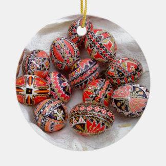 Ostereier Keramik Ornament