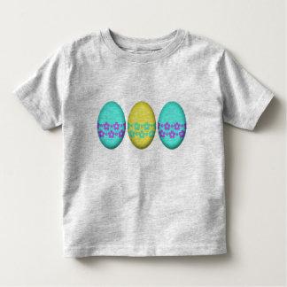 Ostereier mit Blumen Kleinkind T-shirt