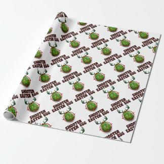Ostereitireur, lustiges Ostern-Rotwildgeschenk Einpackpapier