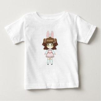 Osterhase Chibi Mädchen Baby T-shirt