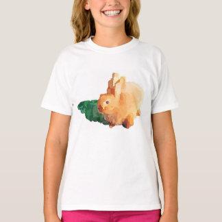 """""""OSTERHASE"""" des Mädchens T - Shirt (weiß)"""