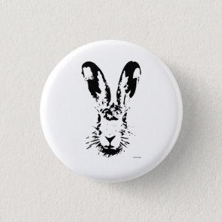 Osterhase Runder Button 3,2 Cm