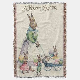 Osterhasen-Kinder farbiges Ei Decke