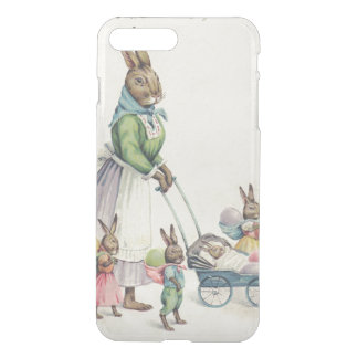 Osterhasen-Kinder farbiges Ei iPhone 7 Plus Hülle