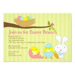 Osterhasen-Osternbrunch-Party Einladung