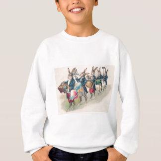 Osterhasen-Parade-Band-Ei Sweatshirt