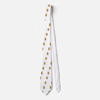 Osterhasenherausspringen des Schokoladeneies Individuelle Krawatten