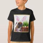 Ostern-Boxer-Hundeshirt T-Shirt