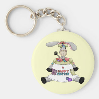 Ostern-Esel-T-Shirts und Geschenke Schlüsselanhänger