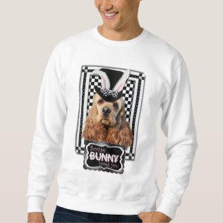 Ostern - etwas Häschen-Lieben Sie - Cockerspaniel Sweatshirt