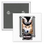 Ostern - etwas Häschen-Lieben Sie - Dingo Anstecknadel
