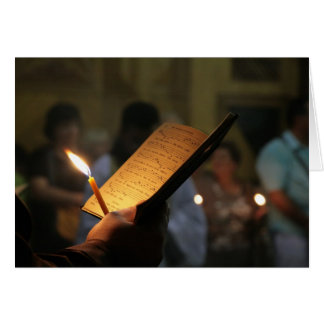 Ostern-Gebet Grußkarte