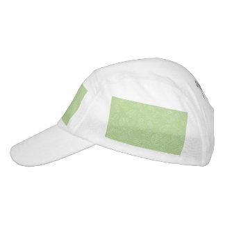 Ostern grünes Retro Paisley Headsweats Kappe