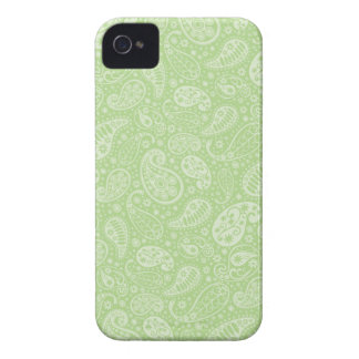 Ostern grünes Retro Paisley iPhone 4 Cover
