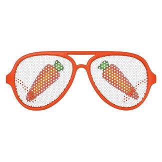 Ostern-Häschen-orange Karotteveggie-Gemüse Sonnenbrille