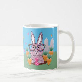 Ostern-Hipster-Kaninchen-Geschenk-Tasse Tasse
