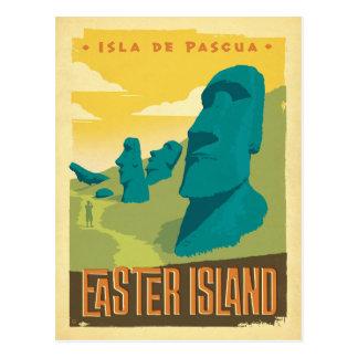 Ostern-Insel, Chile Postkarte