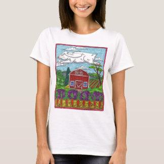 Ostern-Kaninchen-Bauernhof T-Shirt