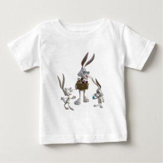 Ostern-Kaninchen bei Ostern Baby T-shirt