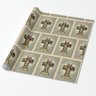 Ostern-Kreuz Geschenkpapier