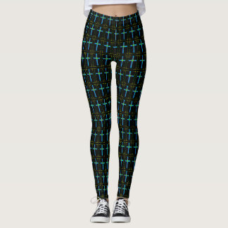 Ostern-Kreuze Leggings