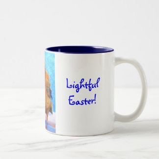Ostern Küken-EIn-Dee-Licht Kaffee Tassen