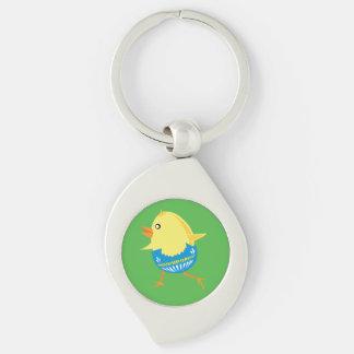 Ostern-Kükenkundenspezifische Schlüsselkette Schlüsselanhänger