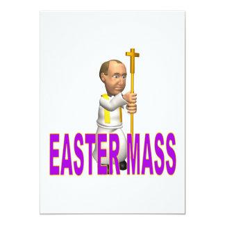 Ostern-Masse 12,7 X 17,8 Cm Einladungskarte