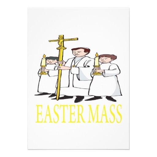 Ostern-Masse Personalisierte Ankündigungskarten
