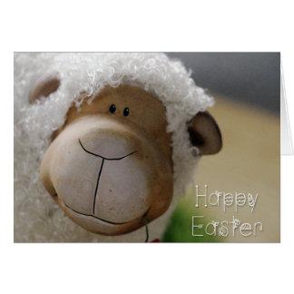 """Ostern - niedliches Schaf """"fröhliche Ostern"""" alle Karte"""
